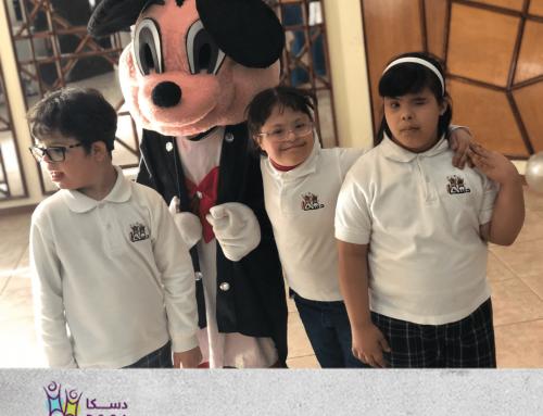 شركة ميرسر تحتفل مع أطفال دسكا بمناسبة اليوم العالمي لمتلازمة داون