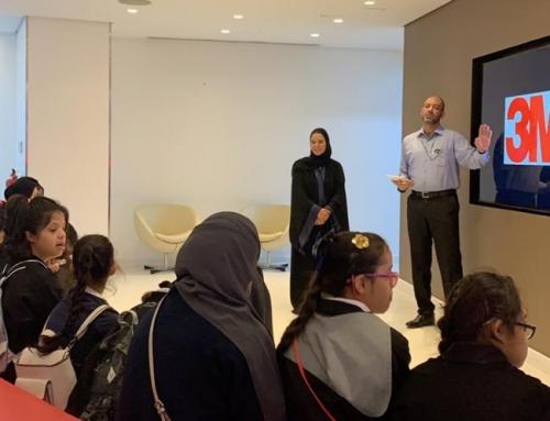 زيارة الأطفال لشركة 3M السعودية